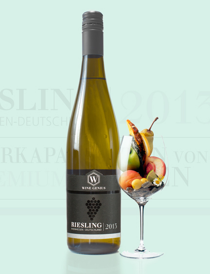Riesling Wine Label Design & Online Branding