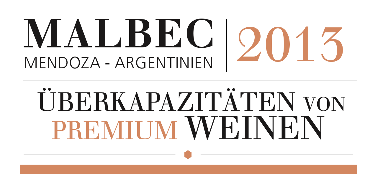 Malbec Wine Label Design & Web Branding - Typography Design