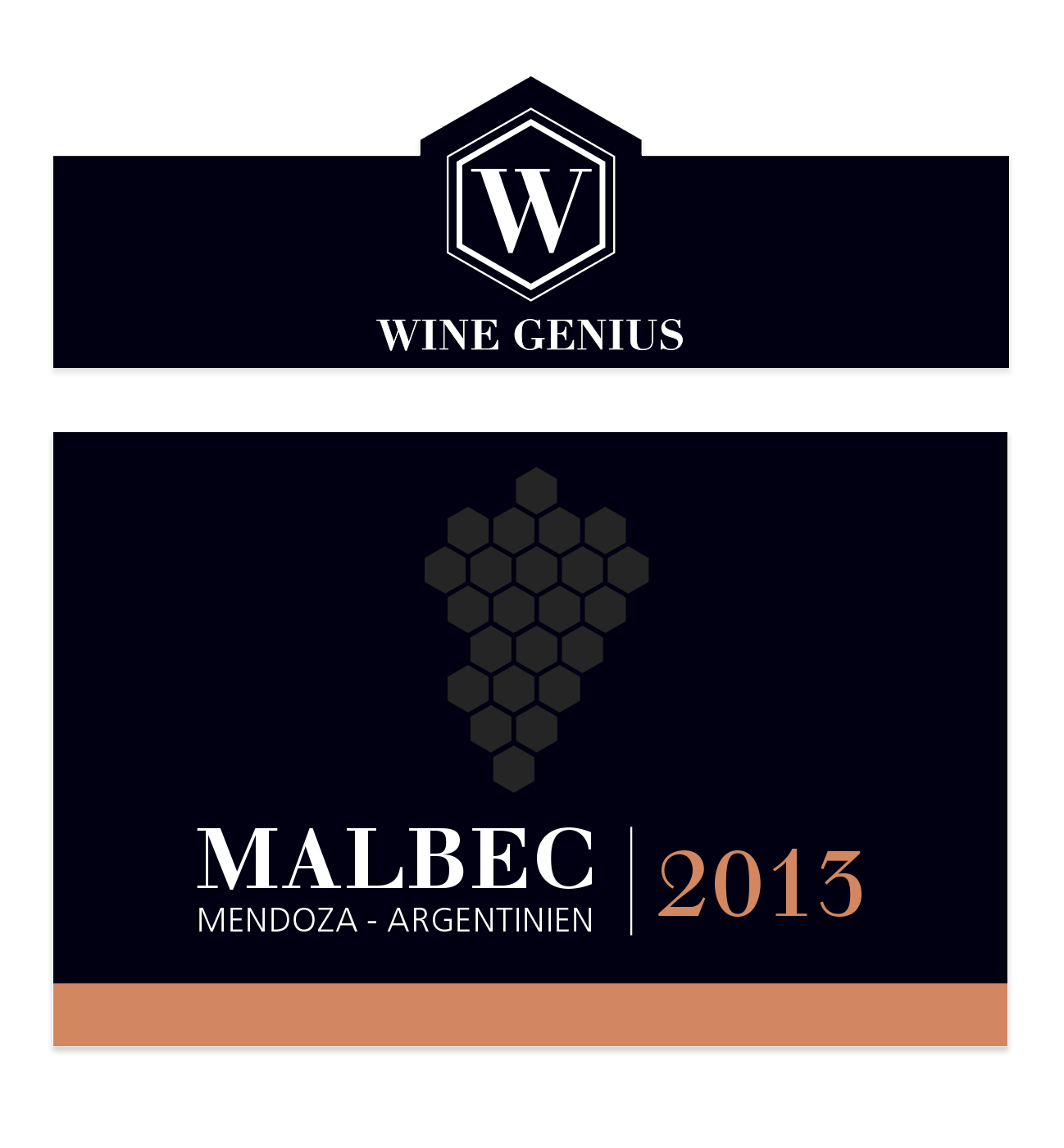 Malbec Wine Label Design & Web Branding
