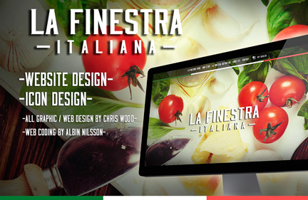 LA FINESTRA ITALIANA – Website design