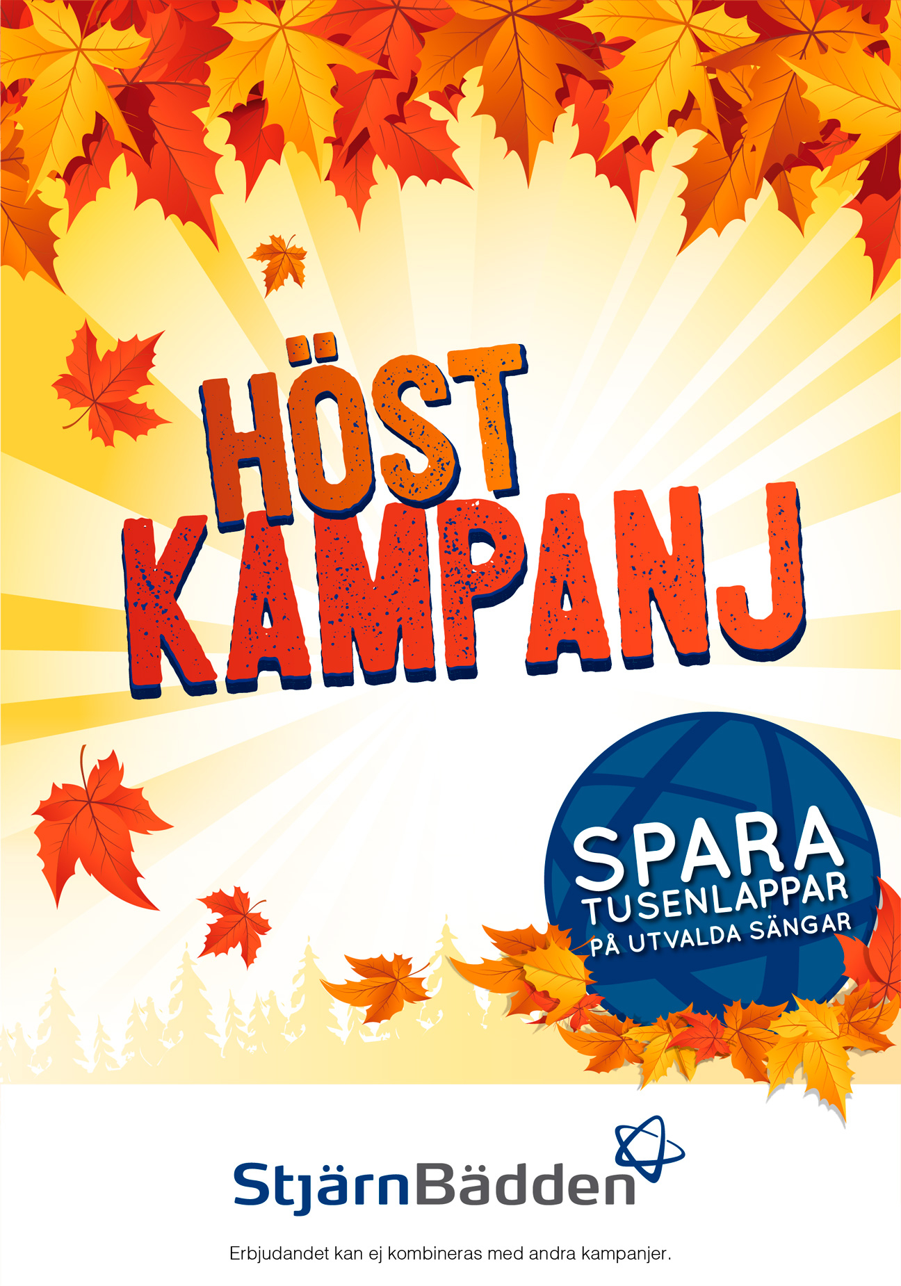 Stjärnbädden design campaign from autumn 2011