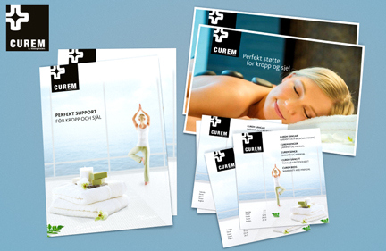 CUREM brochure designs – 2014 & 2015