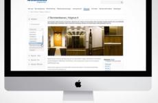 Ahmans I Åhus Web/Mobile, UI/UX Design | Designed sometime in 2012 @ Quid Design Agency