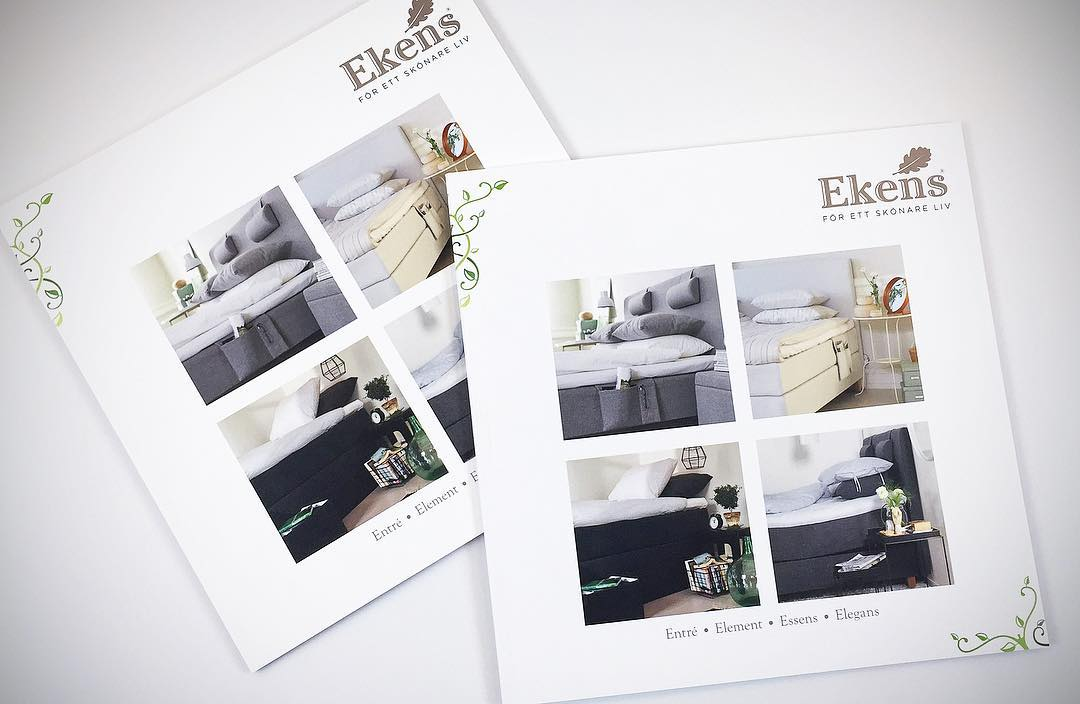 Brochure/ catalogue layout & graphic design for beds; showcasing their range of products | Designed sometime in 2014 with and @ Quid Design Agency