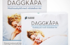 Daggkåpa custom Packaging Design for Hilding Anders – Design was created back in 2013 and was featured throughout the whole of Sweden in different bed stores such as Sova ect