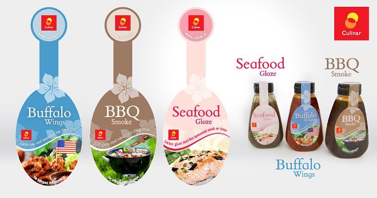 Package design for  Culinar | Designed sometime in 2011 @ Quid Design Agency sauce