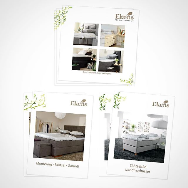 Brochure/ catalogue / Instruction manual layout & graphic design for beds; showcasing their range of products   Designed sometime in 2015 with and @ Quid Design Agency