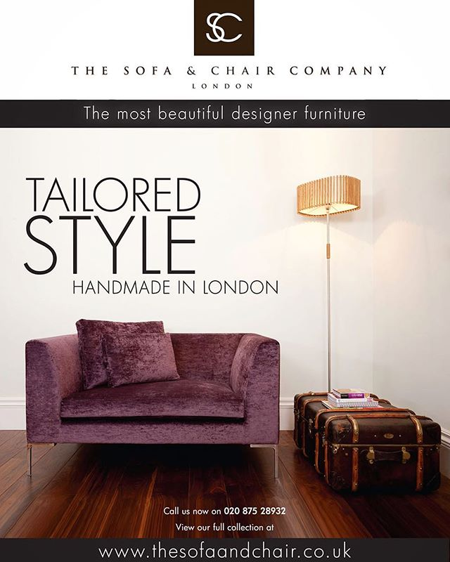 Advert & catalogue layout and designs for sofa & chair company based in London | Designed sometime in 2010