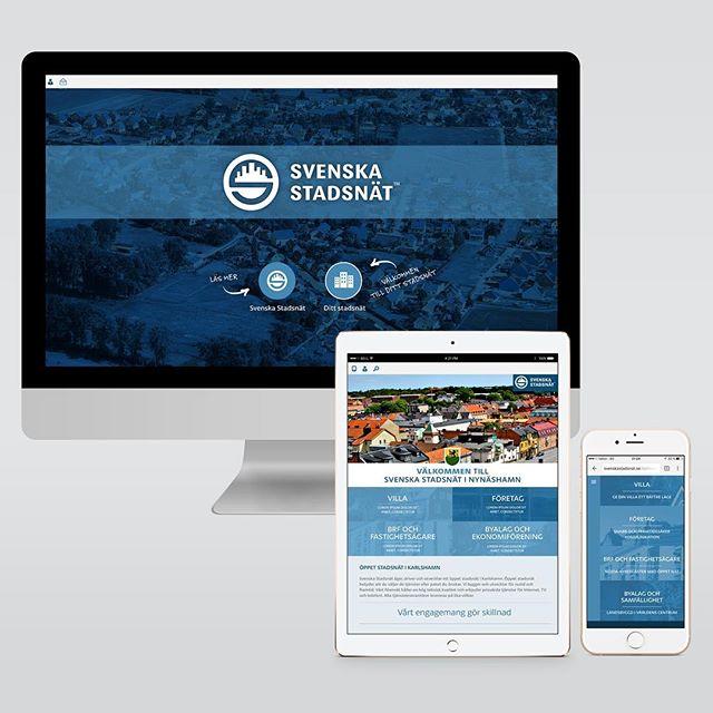 Web, mobile & App layout UI/UX and design for svenskastadsnät | Designed sometime in 2014 @ Quid Design Agency