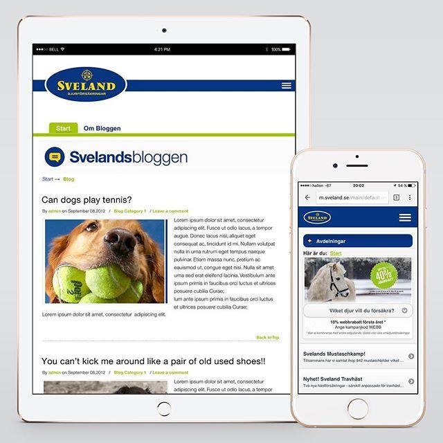 Website, mobile & App layout UI/UX & design for Svealand | Designed sometime in 2011/2012 @ Quid Design Agency