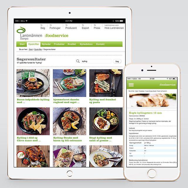 Website, mobile & App layout, UI/UX & design for lantmännen – Danpo | Designed sometime in 2011/2012 @ Quid Design Agency