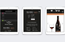 Wine genius UI/UX campaign pages for desktop, tablet & app web design – designed back in 2014 for @winegeniusger