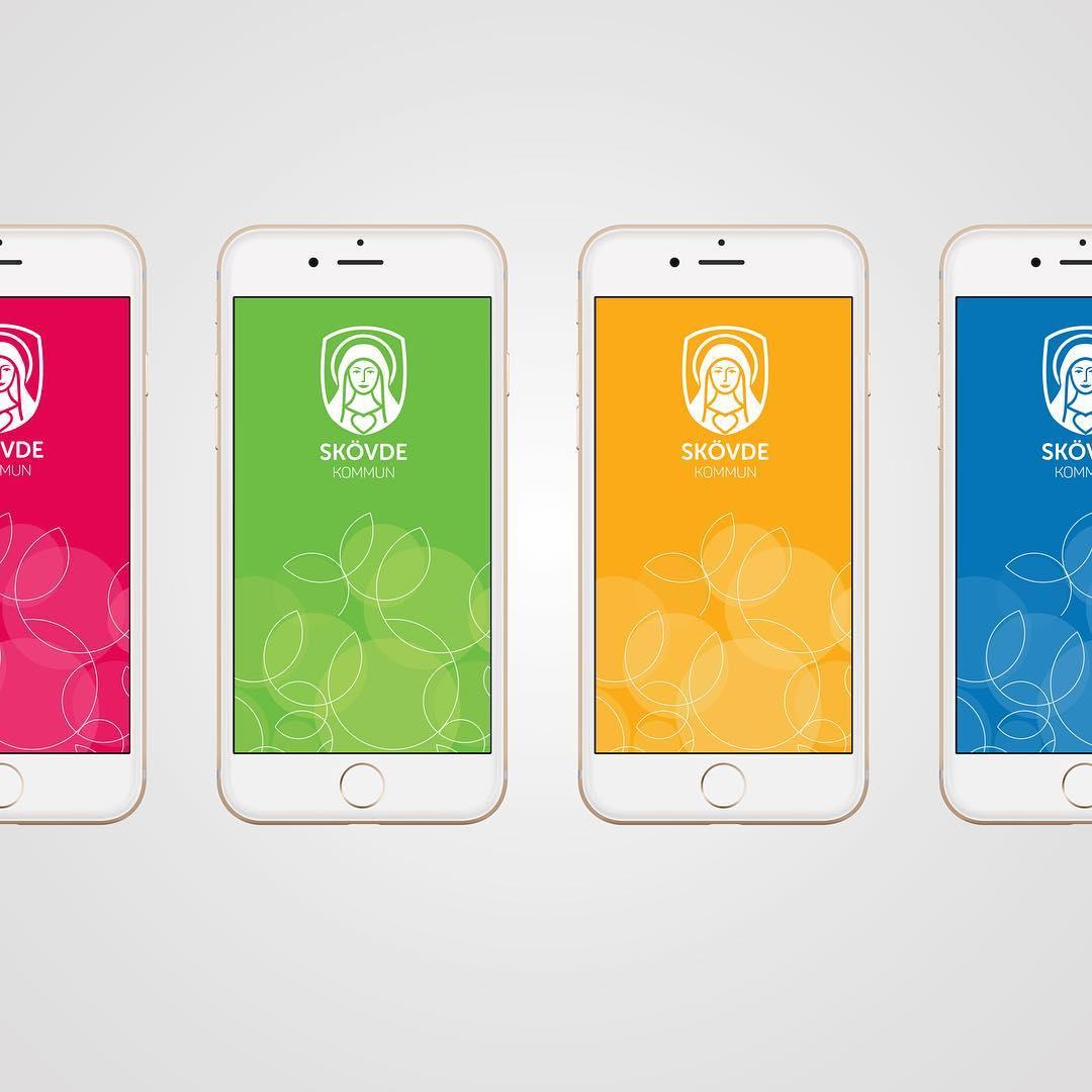 UX / UI Splash Screen Designs for Skövde Kommun | Designed sometime in 2015@ Quid Design Agency|  view the project: 👉🏻 http://www.behance.com/creativechris