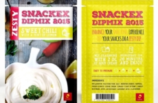 Culinar – Snackex Dip Mix package, Branding & Logo designs. Designed sometime back in 2015.  SKILLS INVOLVED design  CREDITS DESIGN BY CHRIS WOOD & PROJECT MANAGED BY QUID