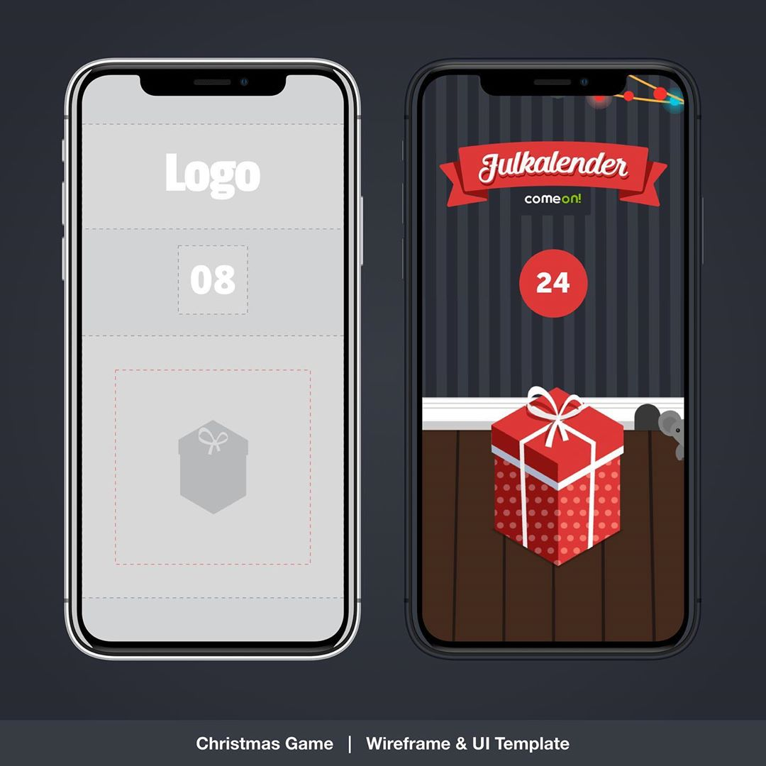 Christmas Daily Challenge Template UX / UI , Layout , Branding, prototyping and Animation designs for responsive Web, Mobile & App, total of 24 box designs and animations. | Designed Dec 2017 @wearecomeon | Check our full description here: 👉🏻 https://tiny.cc/creativechris_PDF