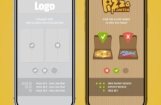 """50/50 Game UX / UI"" – Pizza Jakten 🍕 Game Overview for our Daily Challenge Game. UX / UI , Layout , Branding, prototyping and Animation designs for responsive Web, Mobile & App. 