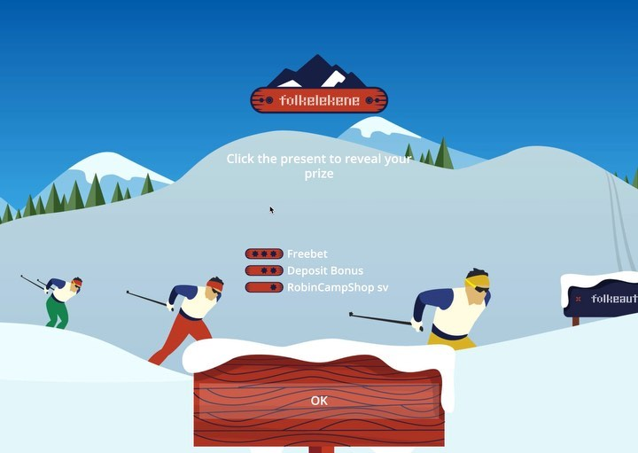 """Racing Game UX / UI"" – Ski cross country overview for Folkeautomatens Daily Challenge Game. UX / UI , Layout , Branding, prototyping and Animation designs for responsive Web, Mobile & App. 