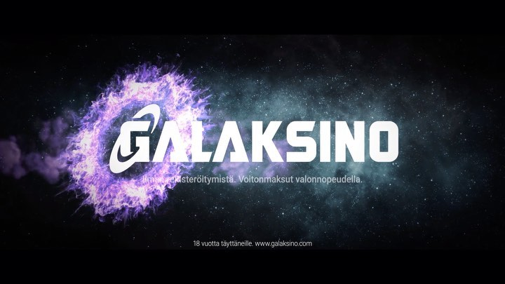 Galaksino Finnish TV advert with the branding identity applied, I feel the overall feeling lacks the purple colours and styles from the style guide but apart from that it's works well